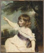 Sir Joshua Reynolds, Master Hare, department of Paintings, Musée du Louvre